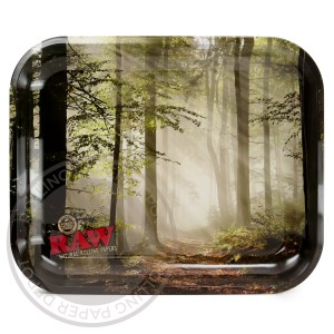 Raw Smokey Trees Tray
