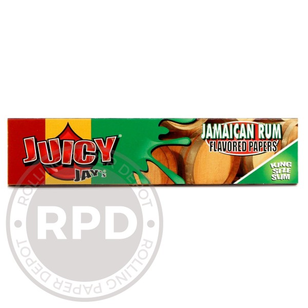 Juicy Jay's Jamaican Rum King size single pack