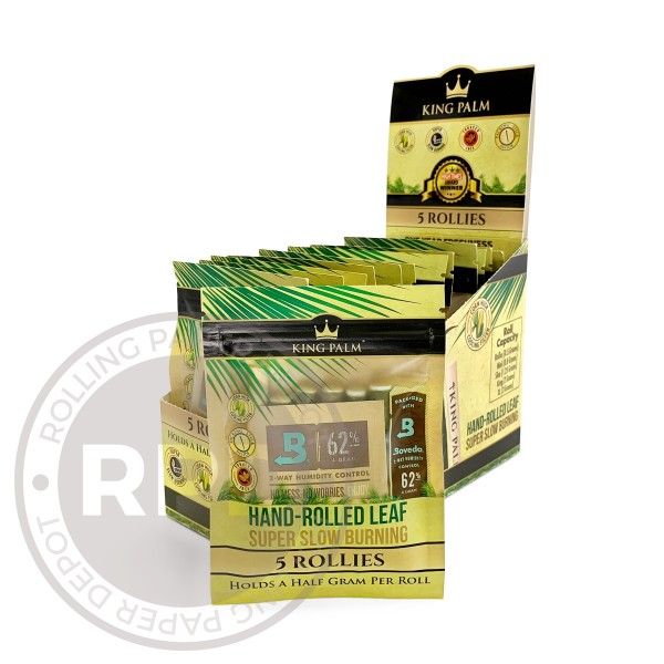 King Palm Rollie Size Rolls full box