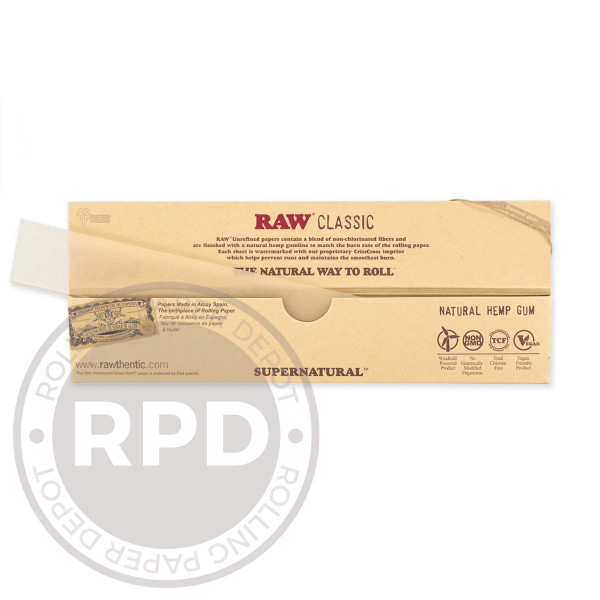 RAW Supernatural Rolling Papers Open RPD