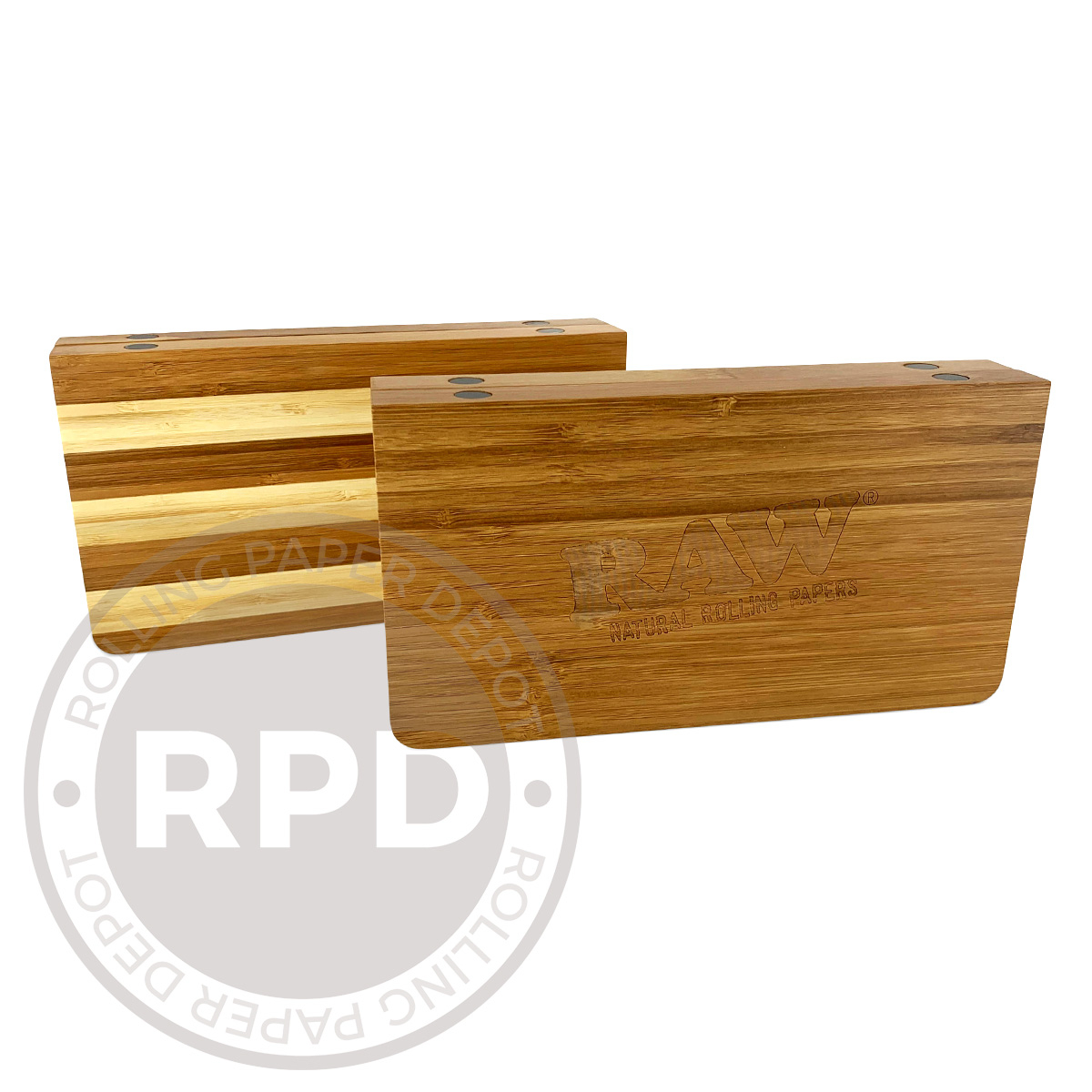 RAW Backflip Bamboo Magnetic Rolling Tray Variations RPd