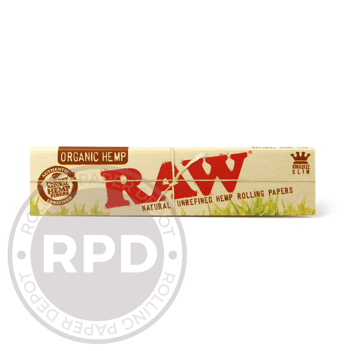 RAW Organic King Size Slim Single Pack RPD